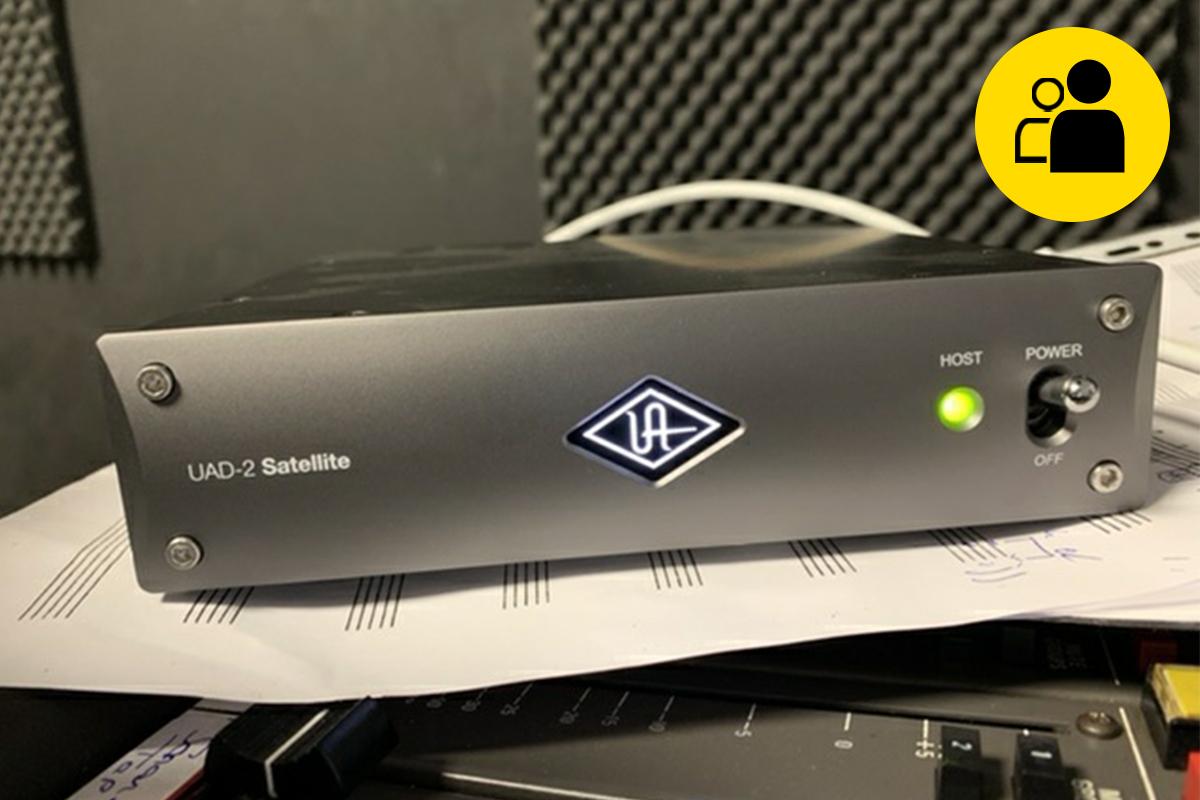Universal Audio Satellite quad TB3 (Pre-Owned)
