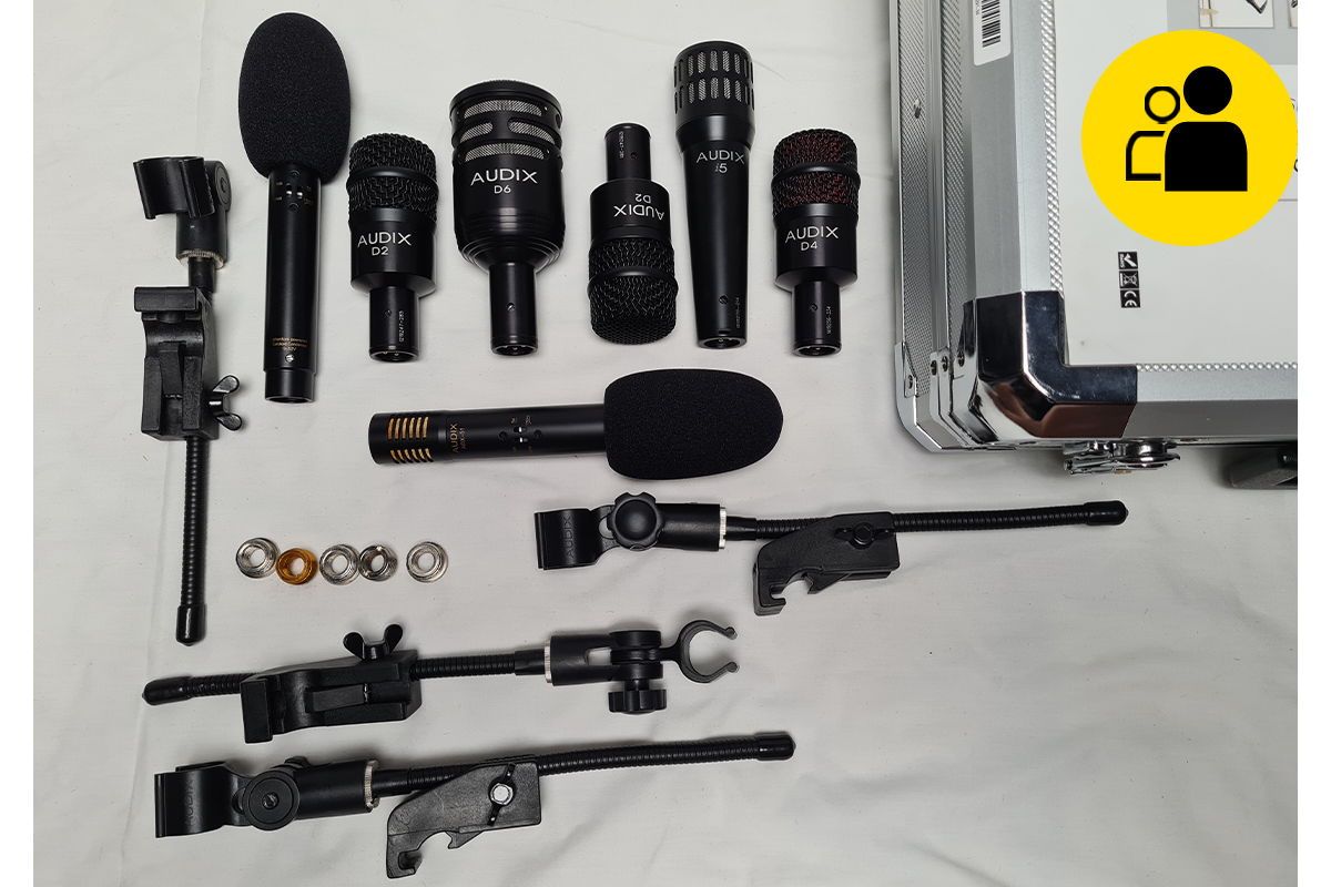 Audix DP7 Drum Mic Pack (Pre-Owned)